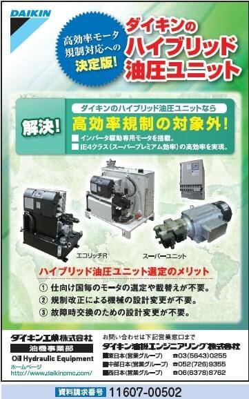 ハイブリッド油圧ユニット