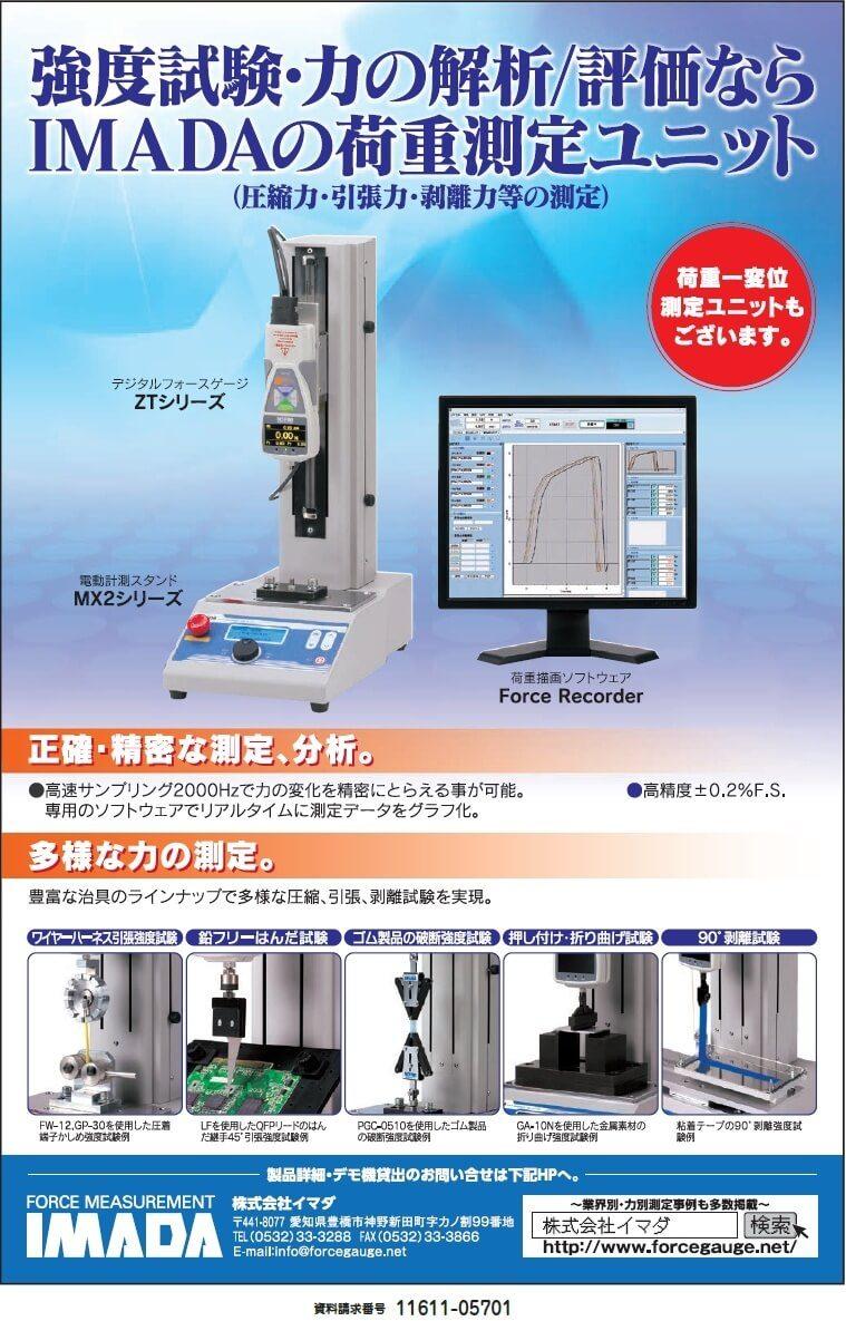 IMADAの荷重測定ユニット