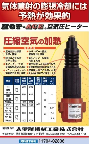空気圧ヒーター