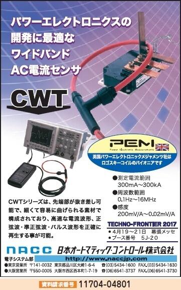 AC電流センサ CWT
