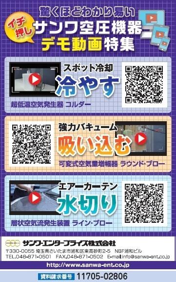 サンワ空気圧機器 デモ動画特集