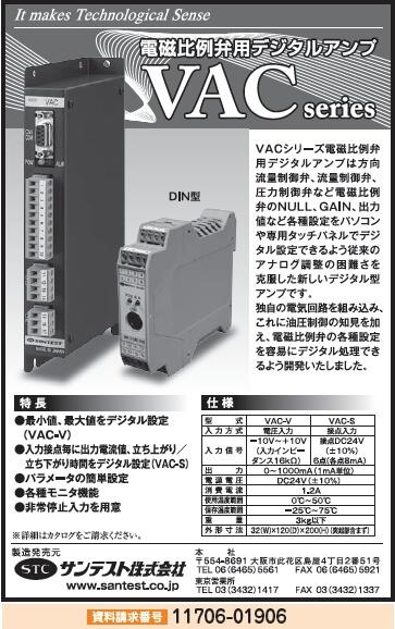 電磁比例弁用デジタルアンプ
