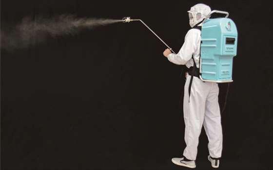 除菌・消臭スプレーバックパック