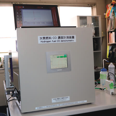 水素燃料CO濃度計測装置