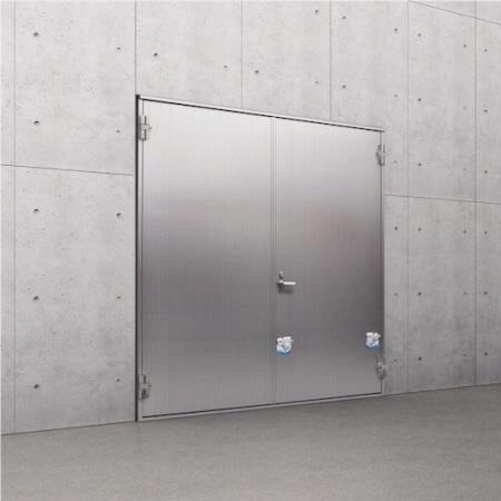 両開きタイプ止水ドア