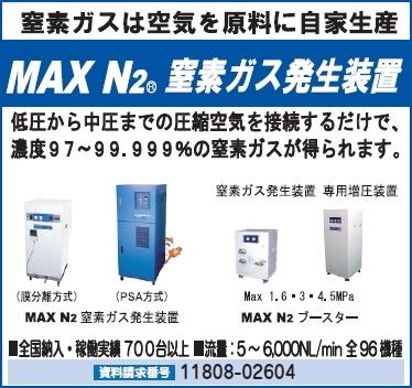 MAX N2 窒素ガス発生装置