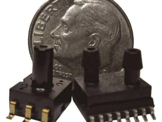 超小型圧力センサー