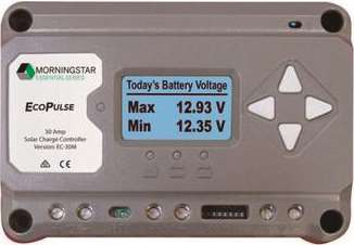 太陽電池充放電コントローラー