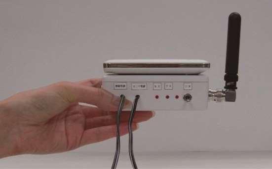 傾斜計データ転送無線ユニット