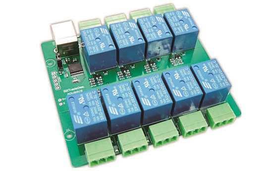 USB接続リレー制御基板