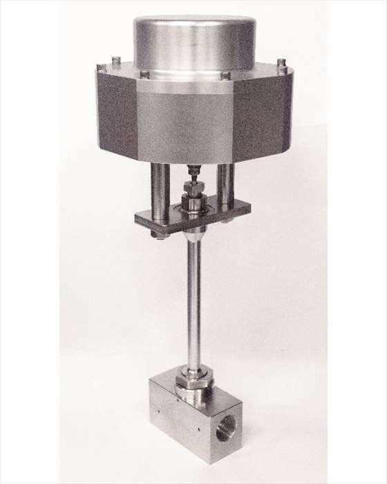 超高圧液体水素適合バルブ