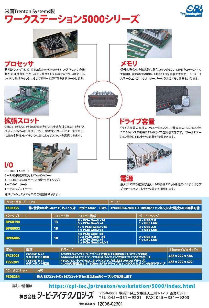 ワークステーション5000シリーズ