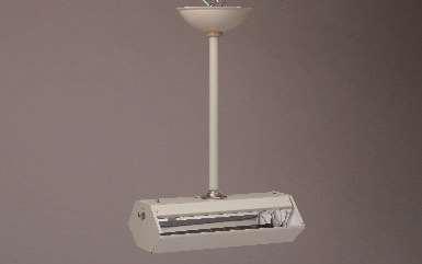 間接照射型空気除菌装置