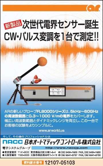 電界センサー FL8000シリーズ