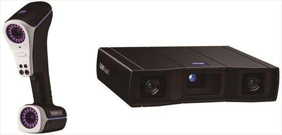 新型非接触3Dスキャナ「ZEISS T-SCAN hawk」「GOM Scan 1」