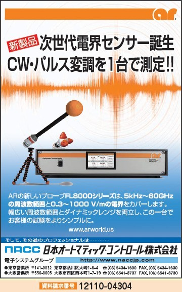 CW・パルス変調を1台で測定!!